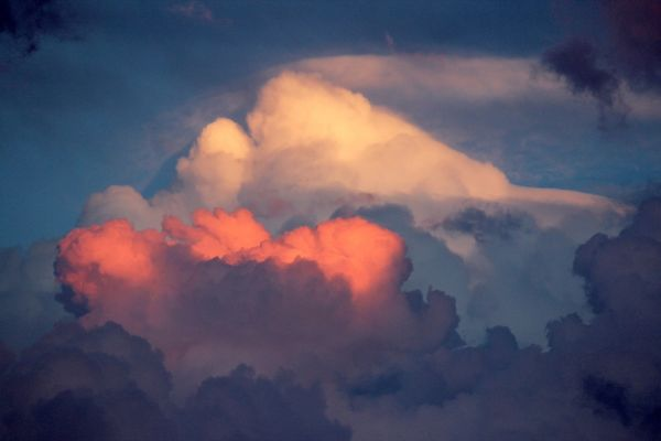 Hd wallpaper couple - Fluffy Sunset Clouds Images Amp Pictures Becuo