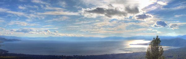Lake Tahoe - Panorama...