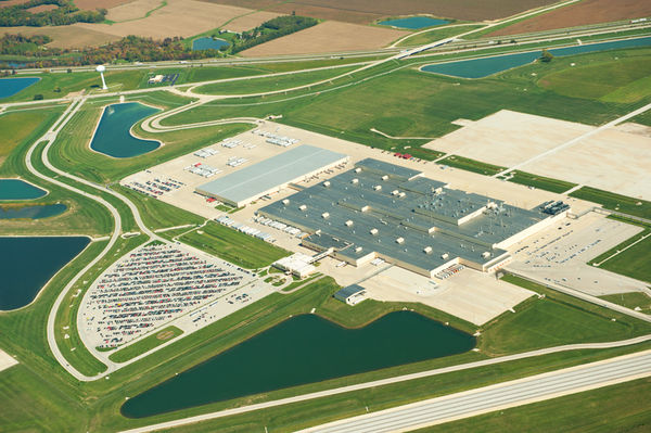 Honda Greensburg Indiana >> Indiana From The Air The Start Of Fall Colors