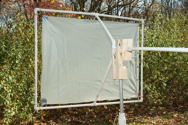 Stand Holding PVC Diffuser Frame...