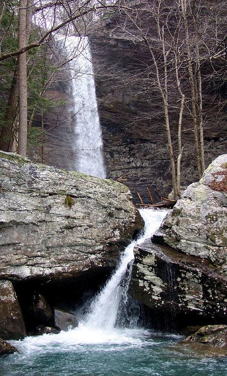 Ozone Falls, Cumberland County, TN...