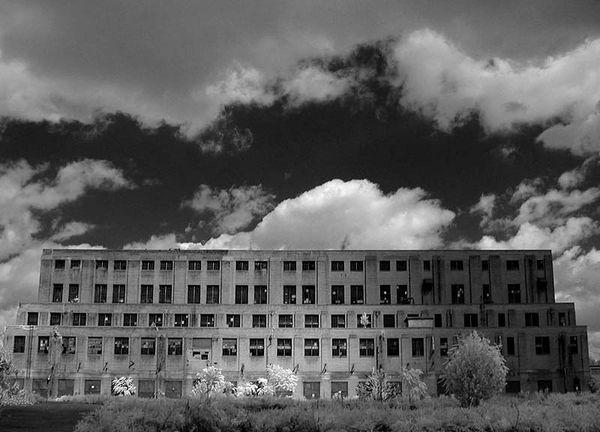 Abandoned Rayon Mill...