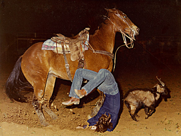 Another Rodeo Wreck