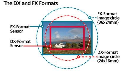 Image #2 - DX-FX Field & Sensor Comparison...
