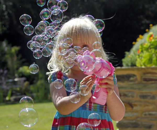 Grace & Bubbles...