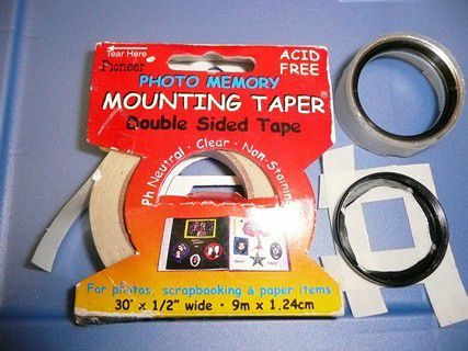 Tape Applied to Adapter...
