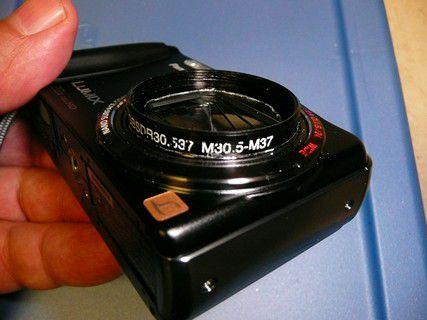 Adapter on Camera...