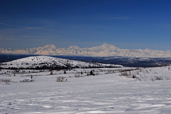Alaska Range...