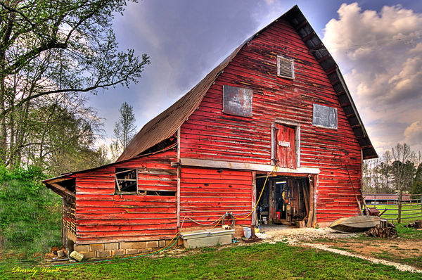Farm Sheds And Barns : Old south cattle farm barns and nice sheds