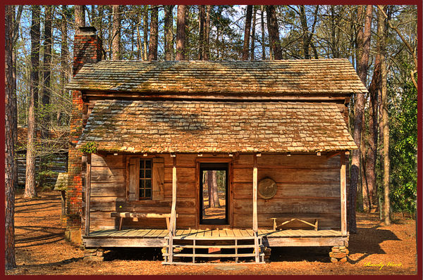 Old South Log cabins
