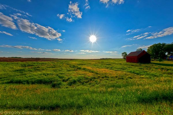 Madison County Iowa : Nikon D700 FX / Sigma 15mm f...