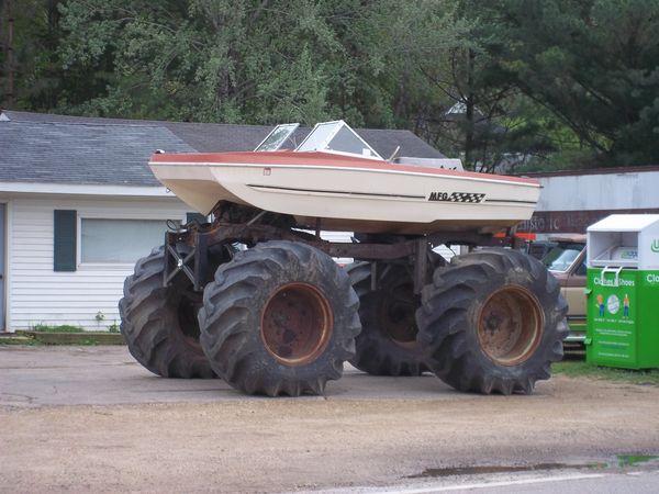 Monster Boat Redneck Style