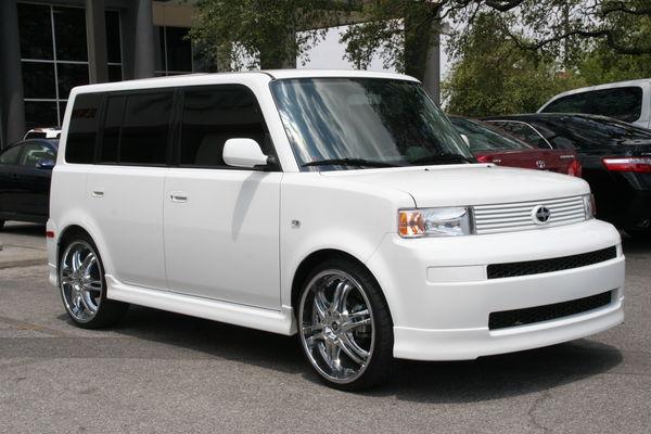 Nice White Scion XB