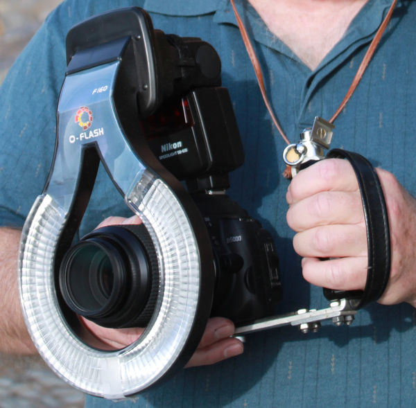 Stadium In Lights And Flashes: Ring Light For 67mm Canon DSLR MACRO LENS