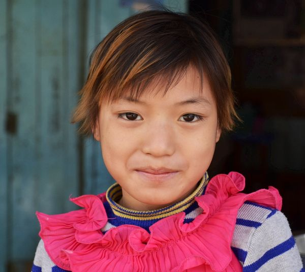 Greetings from Myanmar - smiling faces everywhere you look