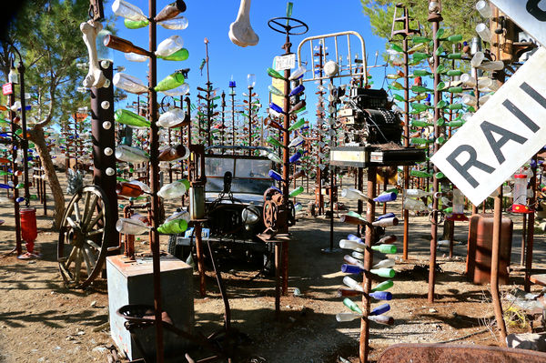 Elmers Bottle Tree Ranch Oro Grande Ca