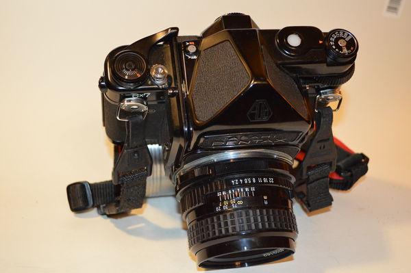 Pentax 6x7, SMC Pentax Lens 105mm f2 4, Metered Prism: $400