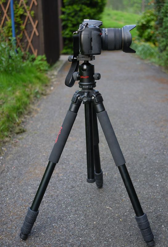Redsnapper tripod + ball head...