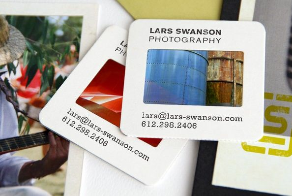Slides as business cards to get his name out so he went to a designer and came up with some unusual ideas like using polaroids as post cards and slides as business cards reheart Image collections