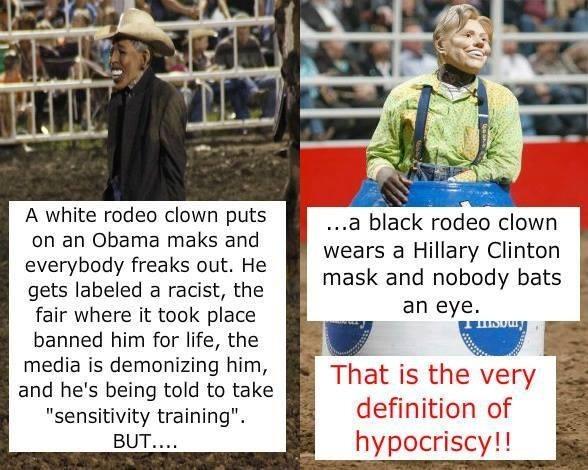 Missouri Fair Bans Rodeo Clown Wearing Obama Mask