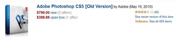 PhotoShop from Amazon.com...