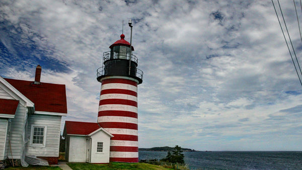 West Quoddy Head Lighthouse...