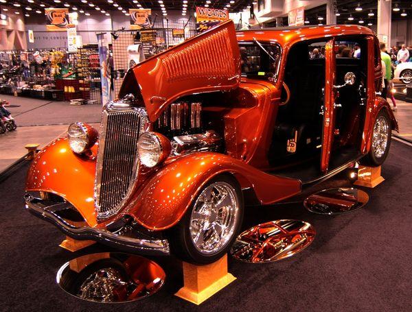 Cincinnati Car Show: Car Show At Duke Energy Convention Center