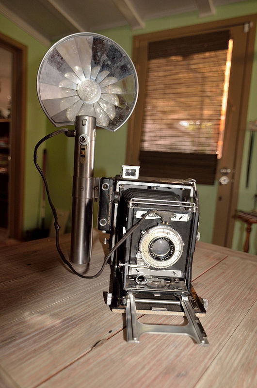 My dads camera that he bought in 1946...