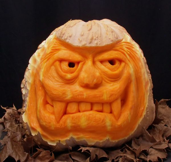Carved Pumpkin #2 2015...