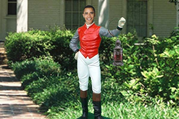 Not Barack obama pussy lawn jockey confirm. happens