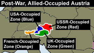 Was austria liberated or conquered in world war ii 1945 1955 how occupied austria was divided into four zones sciox Images