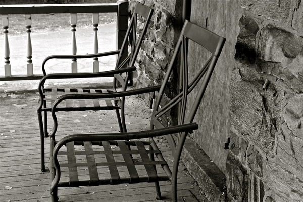 Lonely Chairs on the Front Porch...