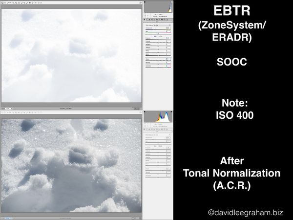 6 EBTR   SOOC VS. Tonally Normalized...