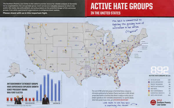 Hate Groups Map