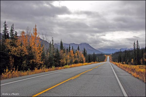 Alaska. Rush hour traffic....