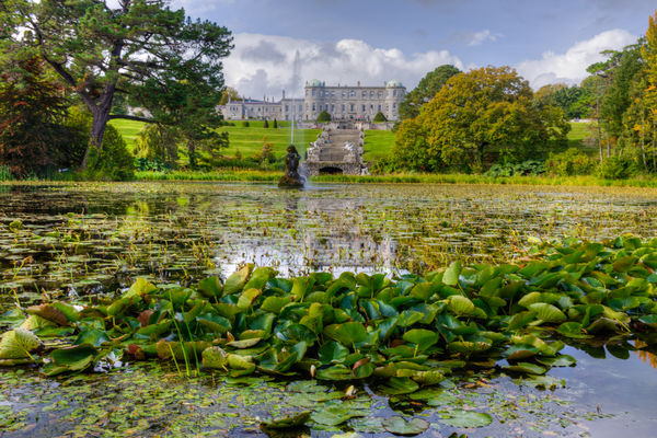 Powerscourt Mansion and Gardens, County Wicklow...