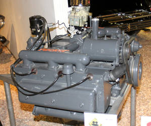 Engine from the 1948 Tucker...