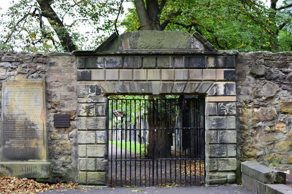 Entrance to the Covenanters' Prison...