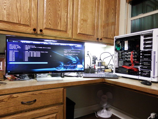Configuring the BIOS, RAID, and the OS...