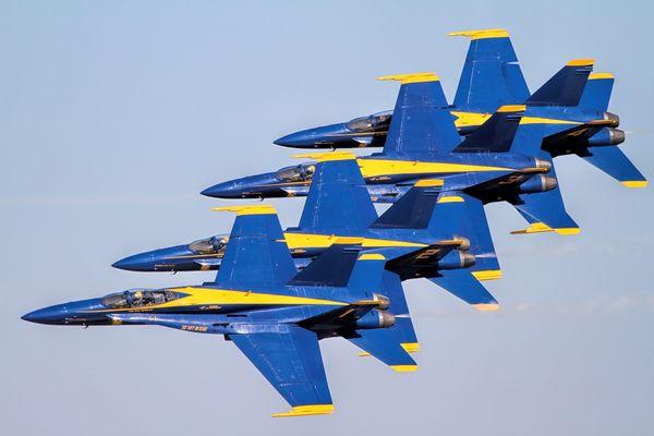 Blue Angels...