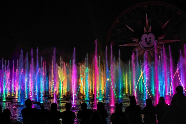 World of Color at California Adventure...