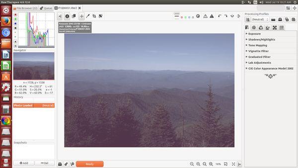 RAW image processing help