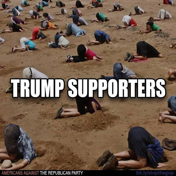 Where Are The Trump Supporters