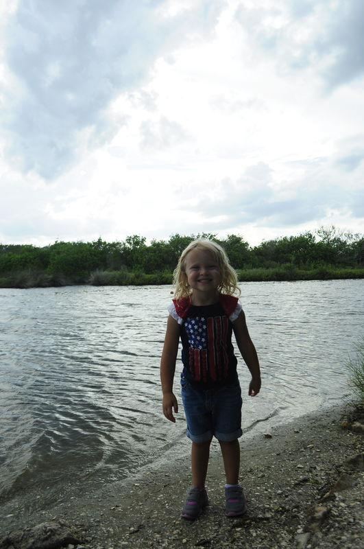 This is my daughter by the river and another examp...