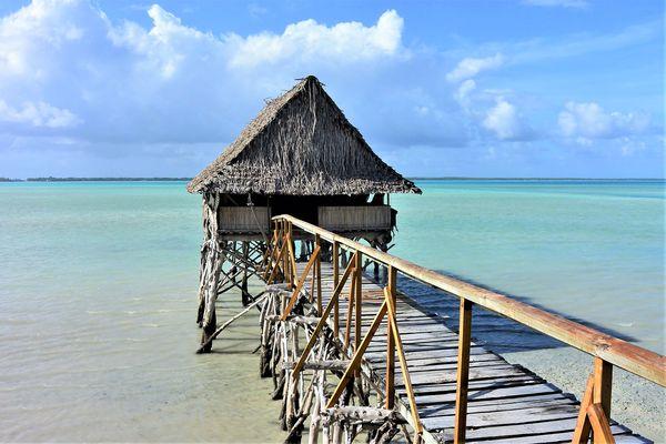 Butaritari Island, Kiribati...