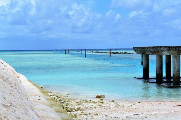 Nukufetau Island, Tuvalu...