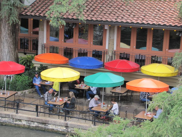 River walk  San Antonio...