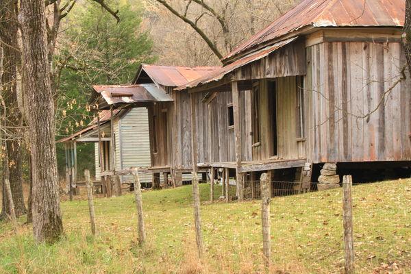 Three Miners Dwellings...