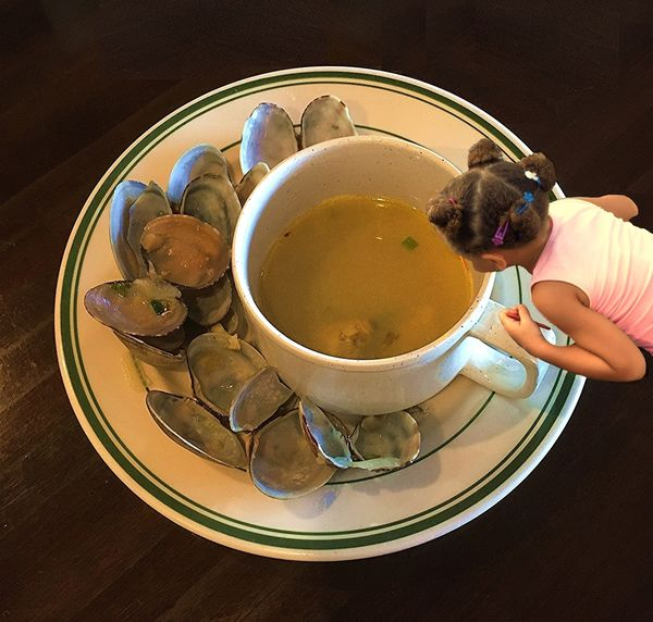 Looking for the Last Clam in that BIG Cup of Broth...