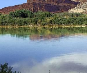 The Colorado River Outside of Moab, Utah...